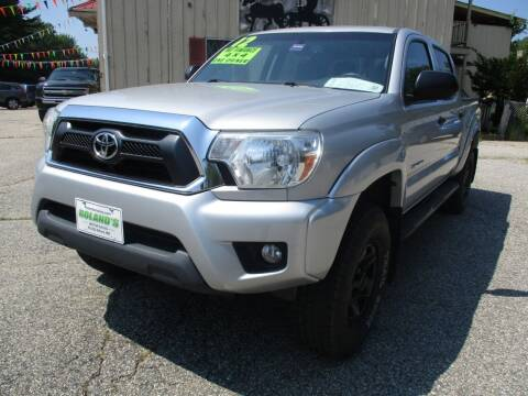 2012 Toyota Tacoma for sale at Roland's Motor Sales in Alfred ME