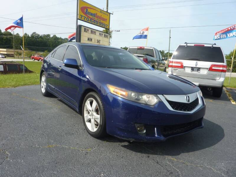 2009 Acura TSX for sale at Roswell Auto Imports in Austell GA