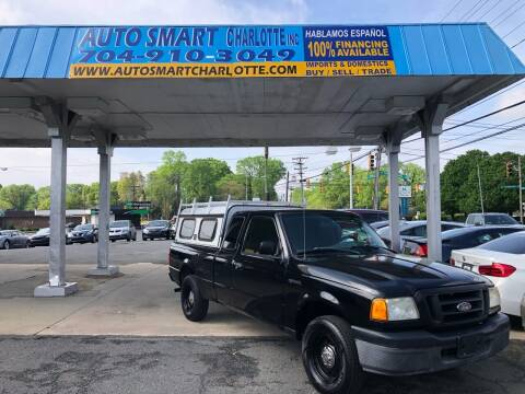2004 Ford Ranger for sale at Auto Smart Charlotte in Charlotte NC
