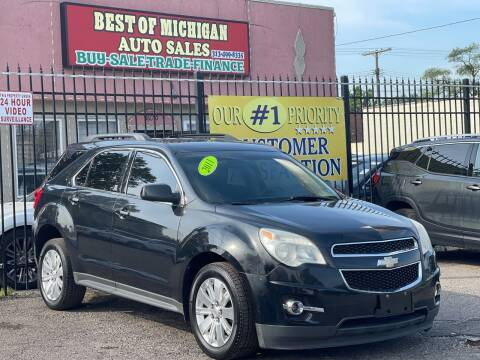 2011 Chevrolet Equinox for sale at Best of Michigan Auto Sales in Detroit MI