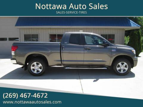 2011 Toyota Tundra for sale at Nottawa Auto Sales in Nottawa MI