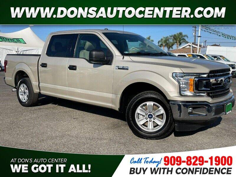 2018 Ford F-150 for sale at Dons Auto Center in Fontana CA