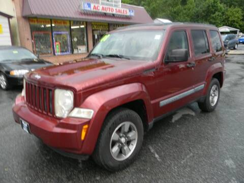 2008 Jeep Liberty for sale at A C Auto Sales in Elkton MD