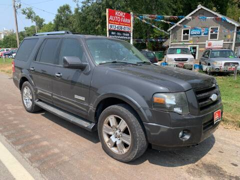 2007 Ford Expedition for sale at Korz Auto Farm in Kansas City KS