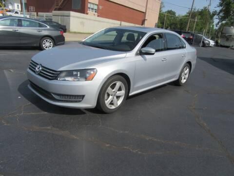 2013 Volkswagen Passat for sale at Riverside Motor Company in Fenton MO