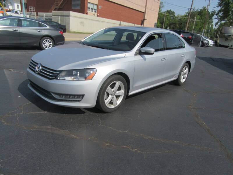2013 Volkswagen Passat for sale at Riverside Motor Company in Fenton MO