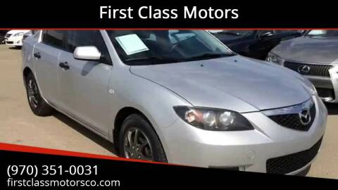 2007 Mazda MAZDA3 for sale at First Class Motors in Greeley CO