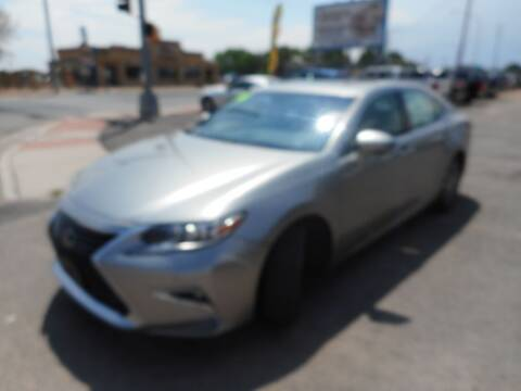 2016 Lexus ES 300h for sale at AUGE'S SALES AND SERVICE in Belen NM