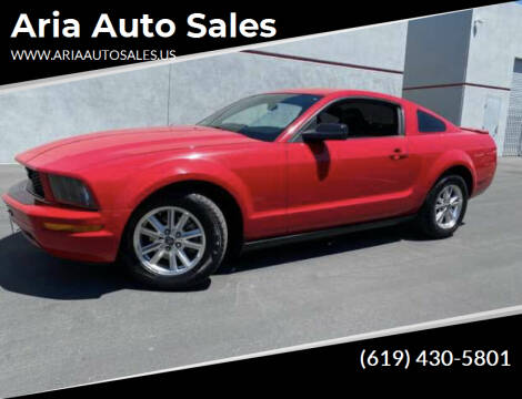 2007 Ford Mustang for sale at Aria Auto Sales in El Cajon CA