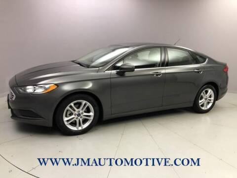 2018 Ford Fusion for sale at J & M Automotive in Naugatuck CT
