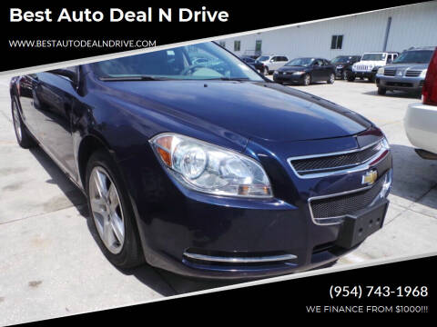 2009 Chevrolet Malibu for sale at Best Auto Deal N Drive in Hollywood FL