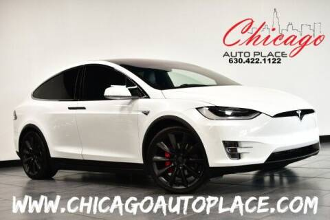2016 Tesla Model X for sale at Chicago Auto Place in Bensenville IL