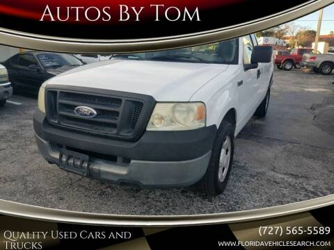 2005 Ford F-150 for sale at Autos by Tom in Largo FL
