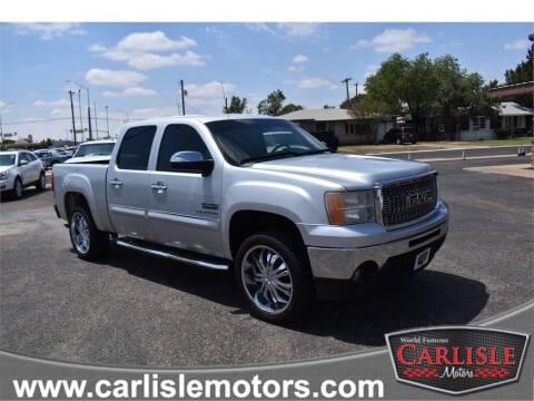 2012 GMC Sierra 1500 for sale at Carlisle Motors in Lubbock TX