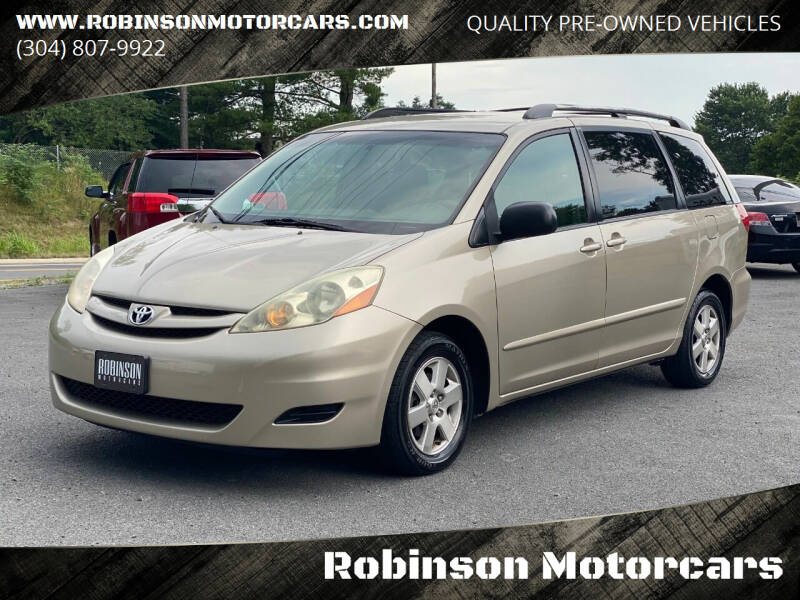 2008 Toyota Sienna for sale at Robinson Motorcars in Inwood WV