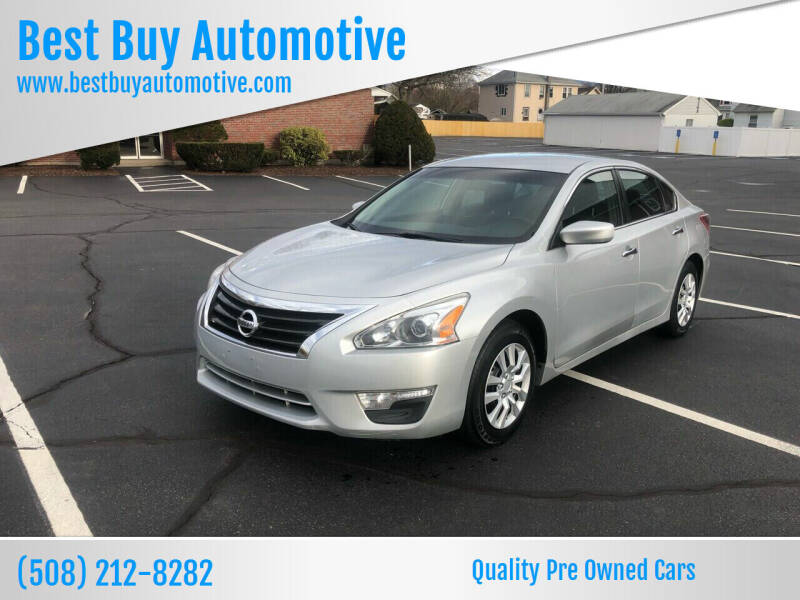 2013 Nissan Altima for sale at Best Buy Automotive in Attleboro MA