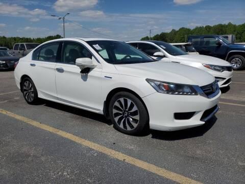 2015 Honda Accord Hybrid for sale at GLOBAL MOTOR GROUP in Newark NJ