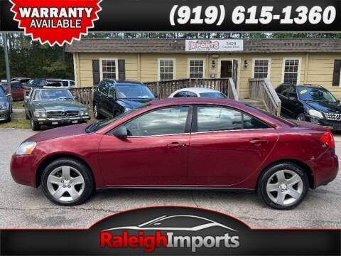 2008 Pontiac G6 for sale at Raleigh Imports in Raleigh NC