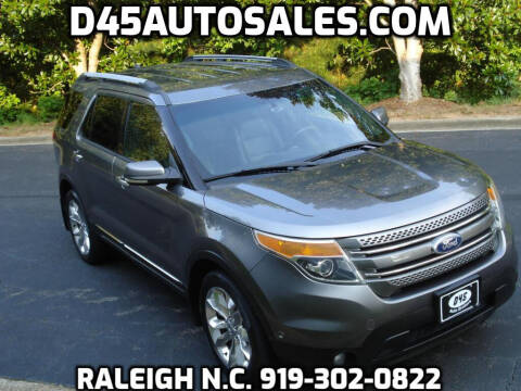 2011 Ford Explorer for sale at D45 Auto Brokers in Raleigh NC