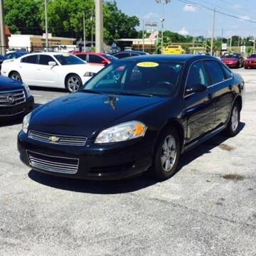2011 Chevrolet Impala for sale at Castle Used Cars in Jacksonville FL