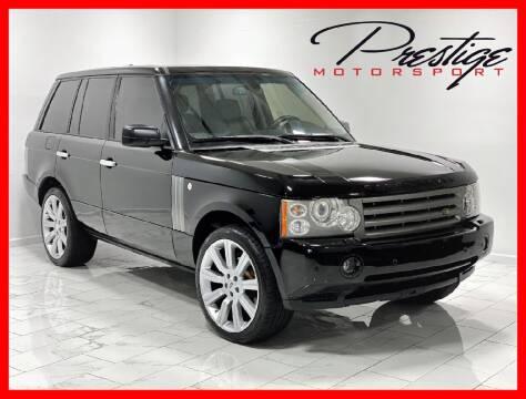 2008 Land Rover Range Rover for sale at Prestige Motorsport in Rancho Cordova CA