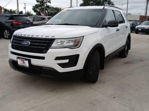 2017 Ford Explorer for sale at EURO MOTORS AUTO DEALER INC in Champaign IL