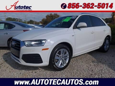 2018 Audi Q3 for sale at Autotec Auto Sales in Vineland NJ