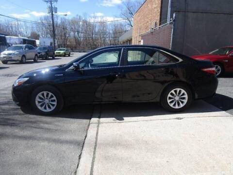 2016 Toyota Camry Hybrid for sale at GLOBAL MOTOR GROUP in Newark NJ