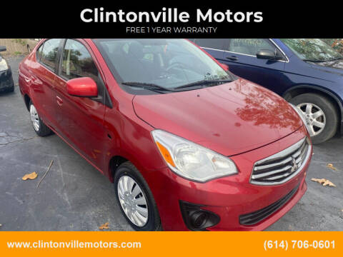 2017 Mitsubishi Mirage G4 for sale at Clintonville Motors in Columbus OH