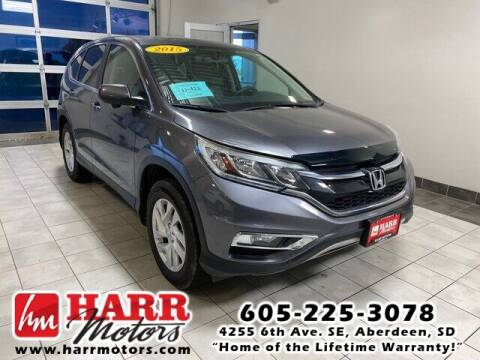 2015 Honda CR-V for sale at Harr Motors Bargain Center in Aberdeen SD