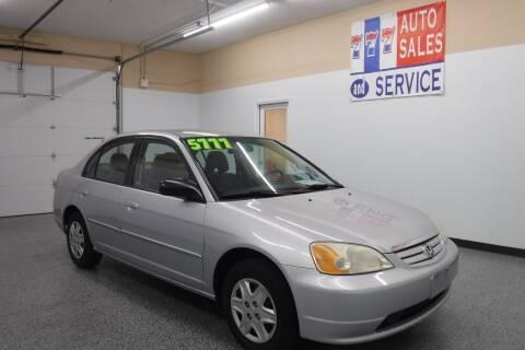2003 Honda Civic for sale at 777 Auto Sales and Service in Tacoma WA