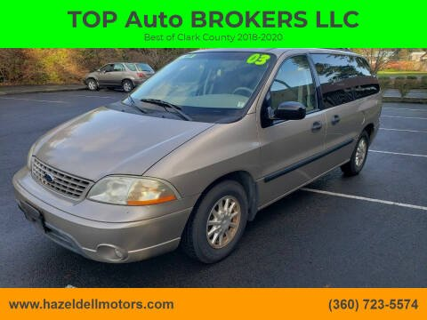 2003 Ford Windstar for sale at TOP Auto BROKERS LLC in Vancouver WA