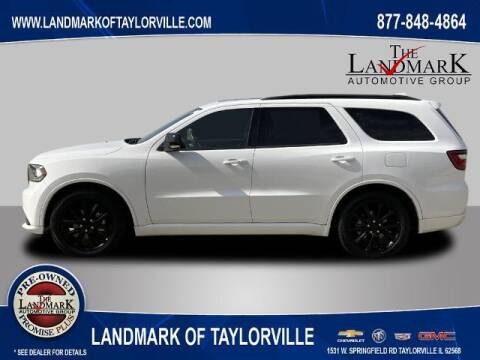 2018 Dodge Durango for sale at LANDMARK OF TAYLORVILLE in Taylorville IL