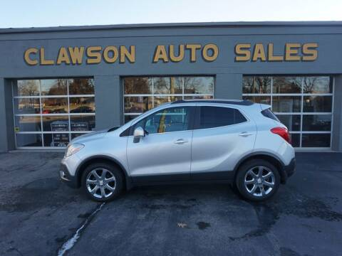 2014 Buick Encore for sale at Clawson Auto Sales in Clawson MI
