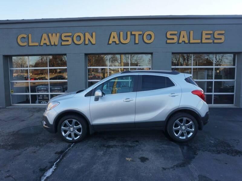 2014 Buick Encore for sale at Clawson Auto Sales in Clawson MI