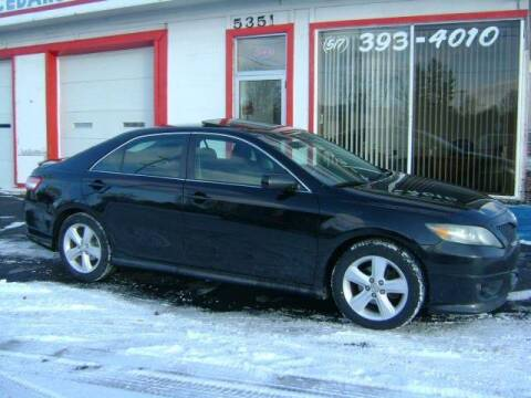 2011 Toyota Camry for sale at Cedar Auto Sales in Lansing MI