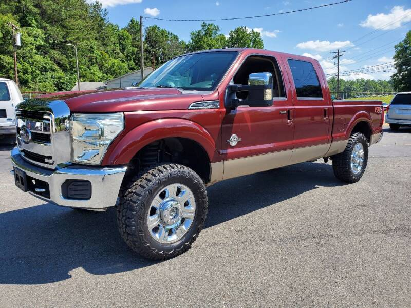 2012 Ford F-250 Super Duty for sale at Brown's Used Auto in Belmont NC