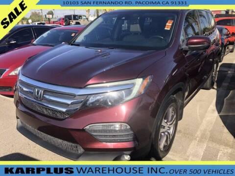 2016 Honda Pilot for sale at Karplus Warehouse in Pacoima CA