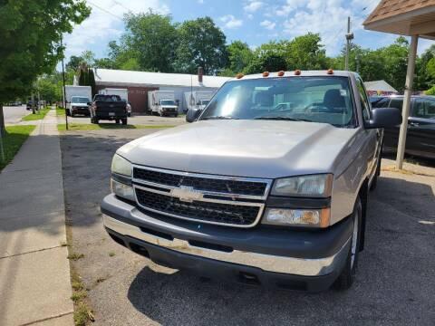 2006 Chevrolet Silverado 1500 for sale at Long Motor Sales in Tecumseh MI