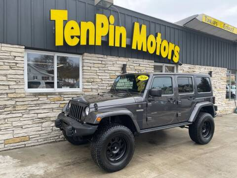 2018 Jeep Wrangler JK Unlimited for sale at TenPin Motors LLC in Fort Atkinson WI