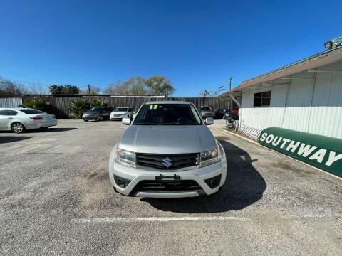 2013 Suzuki Grand Vitara for sale at SOUTHWAY MOTORS in Houston TX