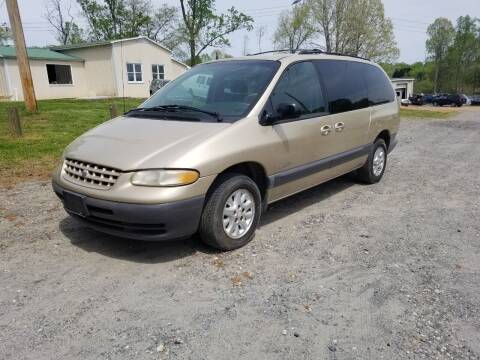 1999 Plymouth Grand Voyager for sale at NRP Autos in Cherryville NC