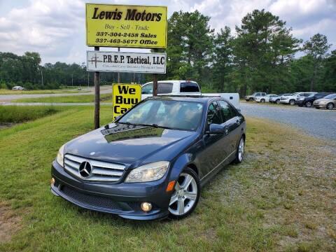 2010 Mercedes-Benz C-Class for sale at Lewis Motors LLC in Deridder LA