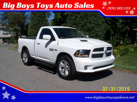 2014 RAM Ram Pickup 1500 for sale at Big Boys Toys Auto Sales in Spokane Valley WA