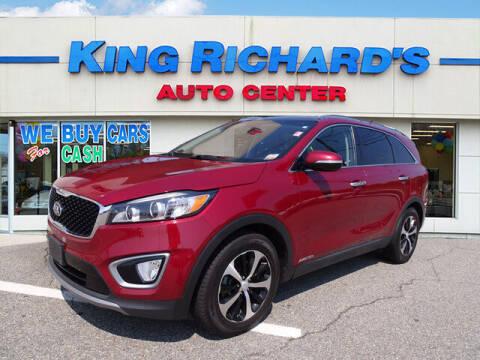 2016 Kia Sorento for sale at KING RICHARDS AUTO CENTER in East Providence RI