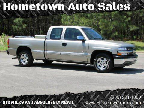 2002 Chevrolet Silverado 1500 for sale at Hometown Auto Sales - Trucks in Jasper AL