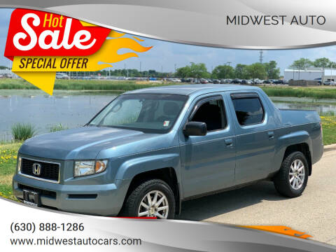 2007 Honda Ridgeline for sale at Midwest Auto in Naperville IL
