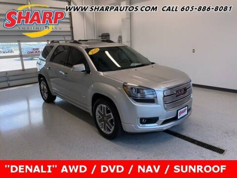 2015 GMC Acadia for sale at Sharp Automotive in Watertown SD