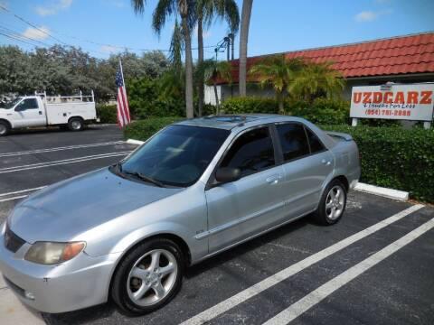2002 Mazda Protege for sale at Uzdcarz Inc. in Pompano Beach FL