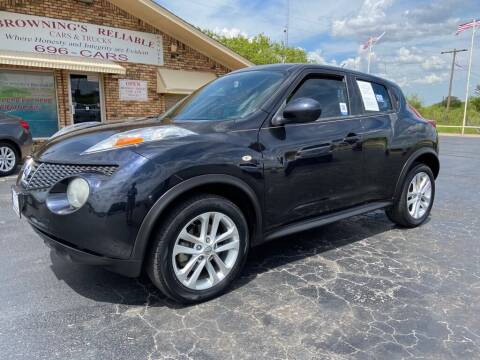 2014 Nissan JUKE for sale at Browning's Reliable Cars & Trucks in Wichita Falls TX